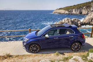 Fiat 500X Yachting - Ziemlich blau