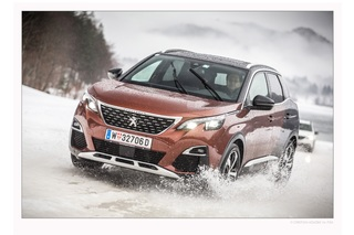 Peugeot 3008 Wintertest - Chic mit Grip