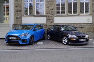 Ford Escort RS Cosworth vs. Focus RS - Geflügelte Worte