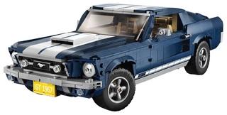 Ford Mustang GT Fastback von 1967 als Lego-Modell - Ponycar aus Pla...