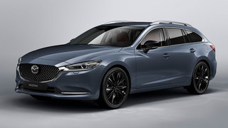 Mazda6 Kombi: Sondermodell Homura - Rot trifft Schwarz