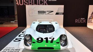 50 Jahre Porsche 917 - Jetzt sieht 001 wieder richtig alt aus