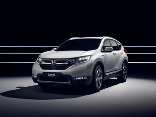Honda CR-V - Europaversion in Genf