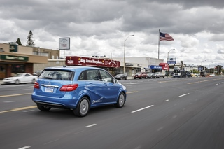 Mercedes B-Klasse Electric Drive - Mit Strom zuerst in den USA (Kur...