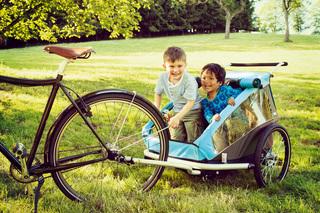 Ratgeber: Kinderfahrradanhänger  - Tipps zu Kauf und Nutzung