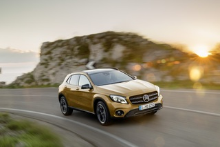 Mercedes GLA Facelift - Behutsam bearbeitet
