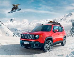 Jeep Renegade Nitro - Mit Snowboard und Sitzheizung