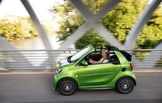 Smart fortwo Cabrio Electric Drive  - Offenes Strömchen
