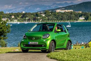 Fahrbericht: Smart setzt Fortwo-Cabrio unter Strom - Flüsterleiser ...