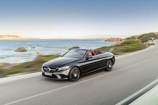 Facelift Mercedes C-Klasse Cabrio und Coupé - Ab Sommer elektrifiziert