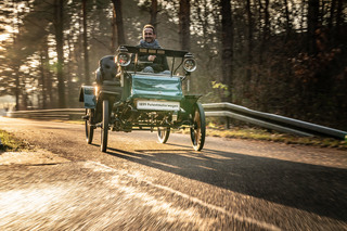 """Panorama: Unterwegs im Opel Patent-Motorwagen """"System Lutzmann""""  - ..."""