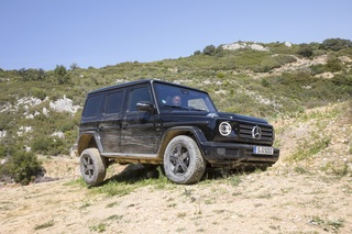 Test: Mercedes G 500 - Hochbegabt – und ständig unterfordert