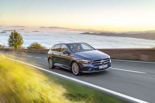 Neue Mercedes B-Klasse - Deutlich verjüngt