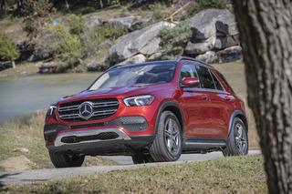 Technik-Neuheiten im Mercedes GLE - Zauberhand im hüpfenden Offroader