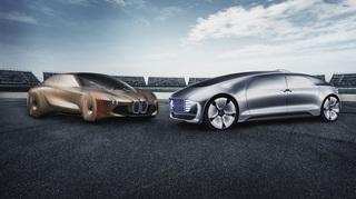 Autonomes Fahren - BMW und Daimler planen gemeinsam Roboterauto-Pla...