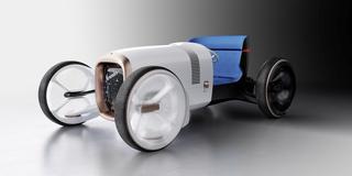 Vision Mercedes Simplex - Captain Future auf dem Retro-Trip