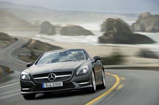 """Automesse Detroit: Mercedes-Benz SL - """"Super Leicht"""" und sehr sparsam"""