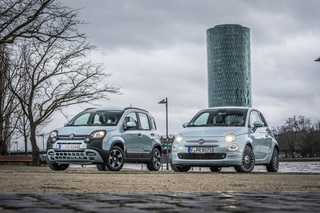 """Fiat 500 Hybrid und Panda Hybrid """"Launch Edition""""  - Zum Marktstart..."""