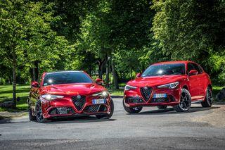 Alfa Romeo Giulia und Stelvio QV  - Etwas teurer