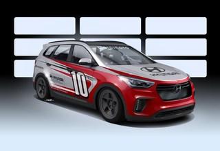 Hyundai Santa-Fast - Das SUV für die Rennstrecke