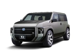 Toyota Tj Cruiser - Transporter im SUV-Stil