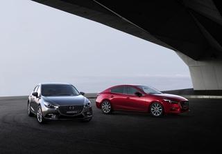 Lifting für Mazda3 - Mehr Licht und mehr Sicherheit