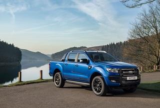 Ford Ranger Wildtrak X  - Blau gemacht
