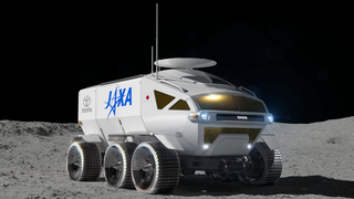 Mondauto von Toyota - Langstrecken-Stromer für Astronauten