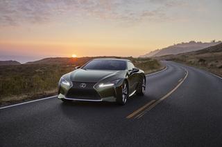 Lexus LC - Jetzt auch in Khaki-Grün