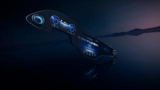Mercedes MBUX Hyperscreen    - Breitwand-Bildschirm für das Elektro...