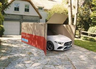 Autokauf in Quarantänezeiten  - Mercedes liefert nach Hause