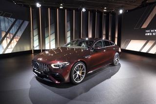 Mercedes-AMG GT 4-Türer Coupé - Hochleistung am Kabel