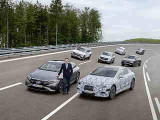 """Mercedes-Strategie """"Electric only"""" - Vollelektrisch bis spätestens ..."""