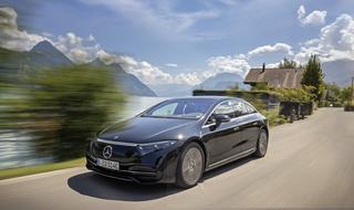 Mercedes EQS  - Start für die Elektro-S-Klasse