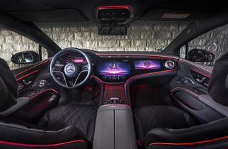 Mercedes EQS  - Daddelnd durch die Ladepause