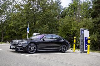Mercedes S-Klasse  - Plug-in-Hybrid und mehr Komfortfunktionen