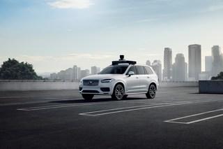 Robotertaxi von Volvo und Uber - Neue Generation für autonome Fahrd...