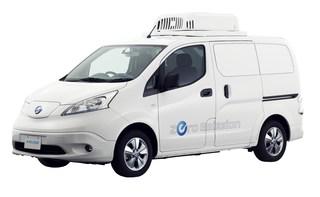 Nissan e-NV200 Fridge Concept  - Eiskalt CO2 gespart