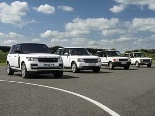 Tradition: 50 Jahre Range Rover - Königlicher Kraxler