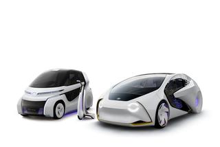 Toyota Concept-i - Elektrisches Trio für die City