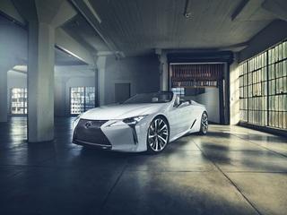 Lexus LC Cabrio-Konzept - Flaggschiff jetzt auch in offen