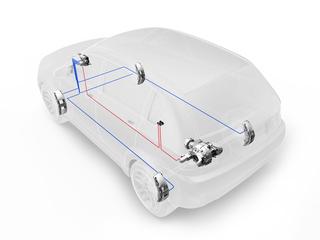 Optimierte Allradtechnik von ZF - Kompakter und besser vernetzt