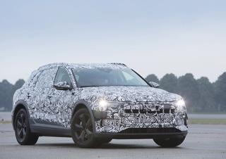 Audi e-tron  - Stromer im Tarnkleid