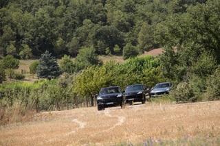 Auf Abnahmefahrt mit dem Porsche Cayenne - Aller guten Dinge sind drei