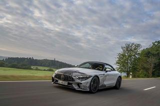Mercedes SL Abnahmefahrt   - Wann wird's mal wieder richtig Sommer?