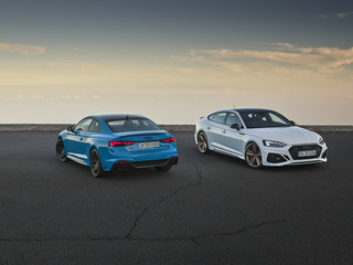 Audi RS5 - Lifting komplett