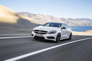 Mercedes A 45 AMG - Kompakte Kraftverteilung
