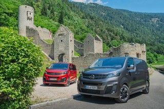 Mit Opels elektrischen Vans durch die Dolomiten  - Der Berg ruft!