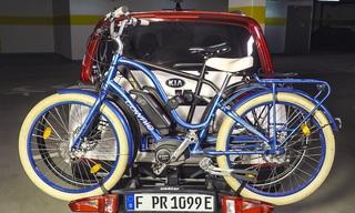 Ratgeber: E-Bike-Transport mit E-Autos - Die Stützlast ist der Knac...