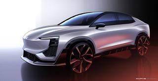 Aiways U6ion Konzept - Elektrisches SUV-Coupé für Genf